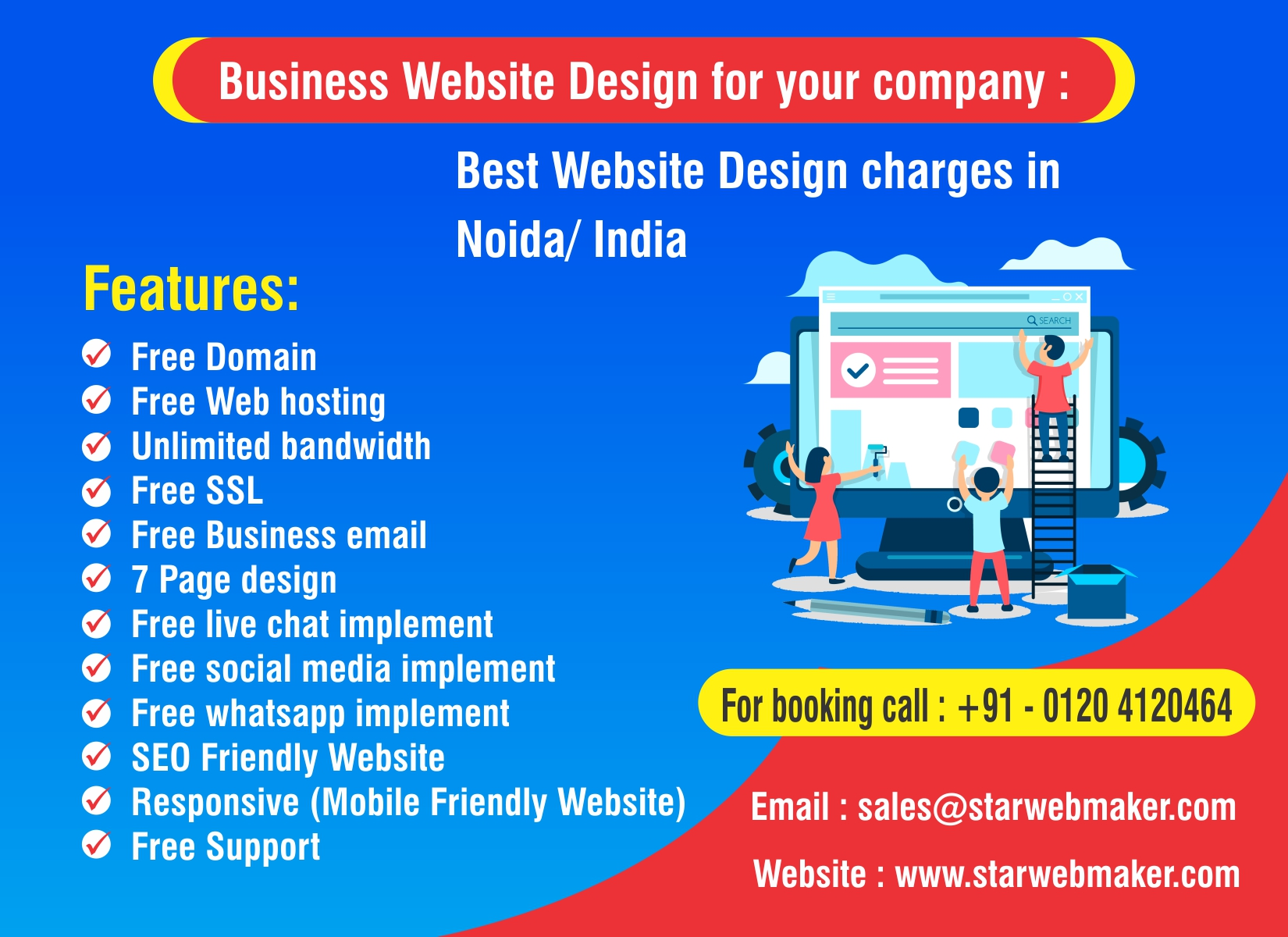 website design price in noida