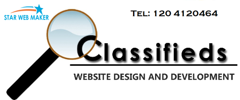 classified website portal development