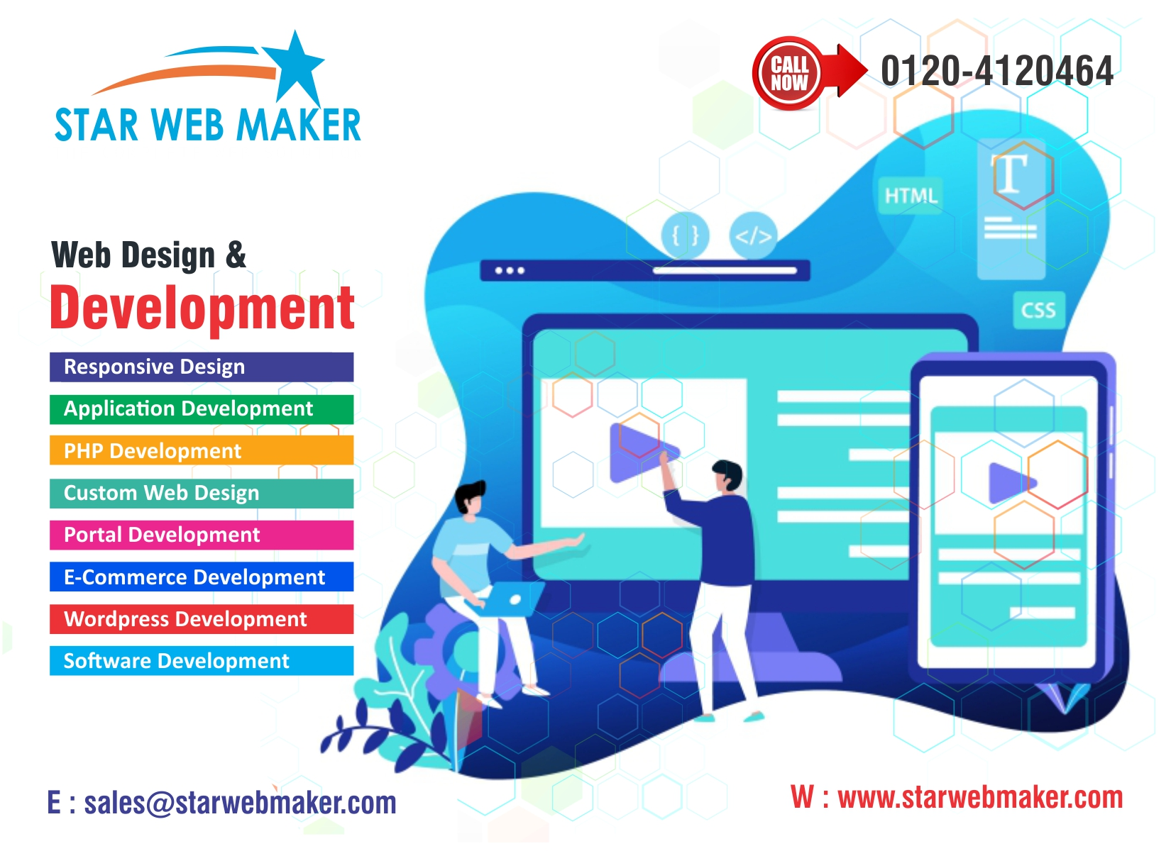 Promote Your Business With Static Web Design Web Design Company In Noida