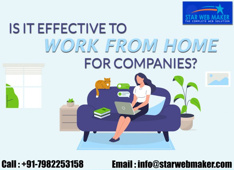 IS IT EFFECTIVE TO WORK FROM HOME FOR COMPANIES?