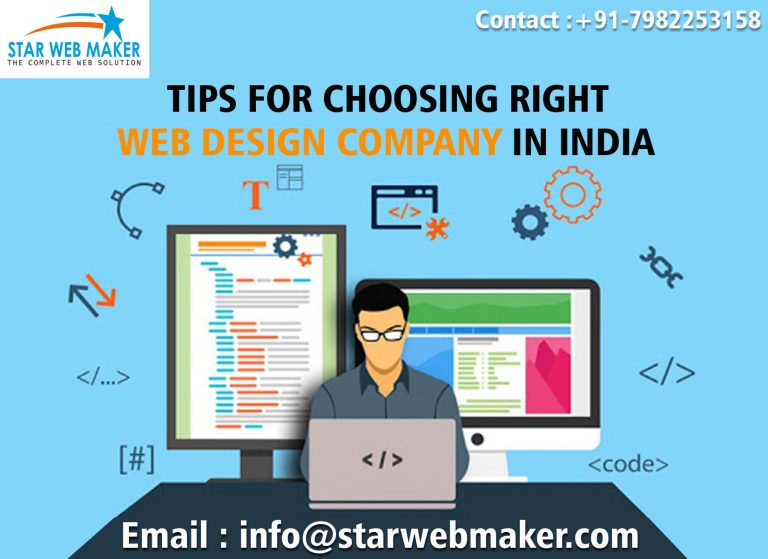 TIPS FOR CHOOSING RIGHT WEB DESIGN COMPANY IN INDIA